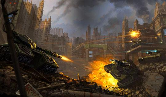 Battle for the Streets in Tanki Online