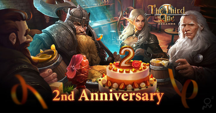 The Third Age: The 2nd Anniversary Brings an Exciting Gift for the Players