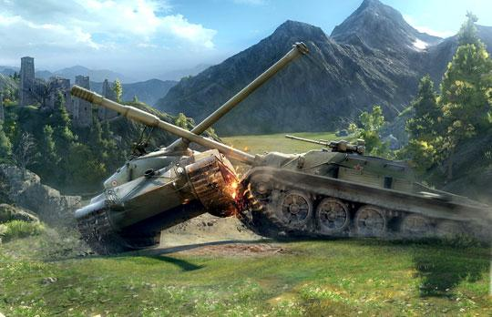 Brute Strength Prevails in the World of Tanks