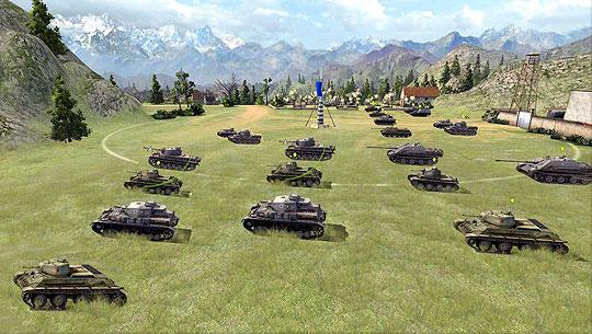 Blitzkrieg in World Of Tanks