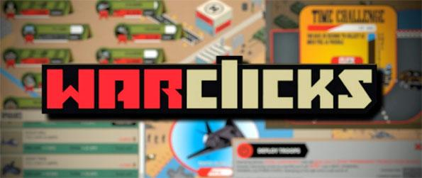 War Clicks - Enjoy this top notch idling game that's sure to have you captivated for hours.