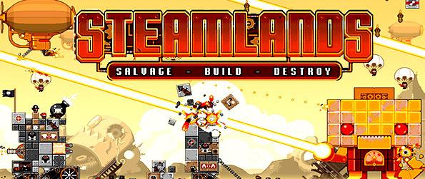 SteamLands - Play arcade scrolling Steampunk at its finest. Simple, quick and very addictive.