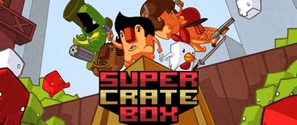 Super Crate Box - Simple looking yet challenging for a platform game.