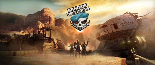 Band of Defenders - Build your defenses and protect your objective from the hordes of mutants hell-bent on destroying it all.