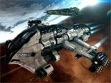 Eve Online spaceships heading to battle