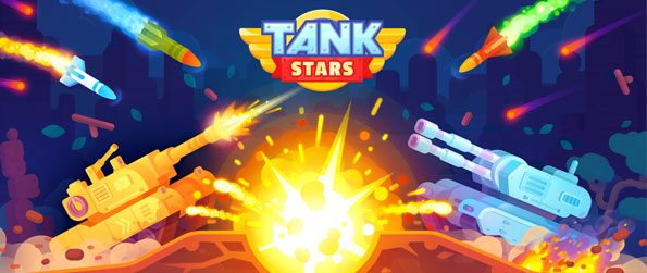 Tank Stars - Take control of tanks with loads of deadly weapons at your disposal in this fun 2D arcade shooter!