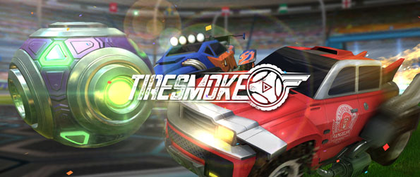 Tiresmoke - Experience an action-packed football game where you control cars instead of players in Tiresmoke!