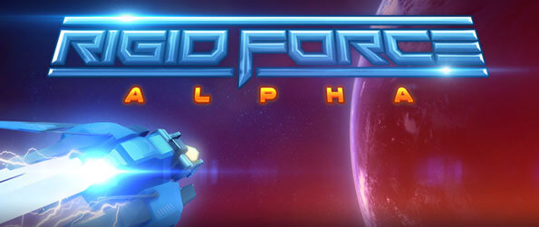 Rigid Force Alpha - Pilot the fleet's most advanced spaceship and help the UPFF battle its enemies in this brilliant space arcade shooter, Rigid Force Alpha!