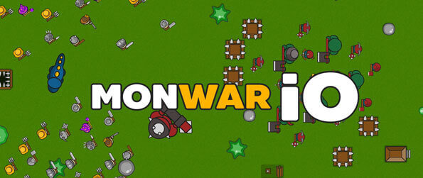 Monwar.io - Gather resources, build your base and defend it against other players in Monwar.io!