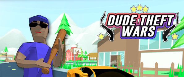 Dude Theft Wars - Get hooked on this incredibly addicting open world sandbox that's filled with seemingly endless possibilities.