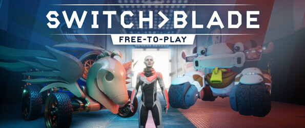 SwitchBlade - Work with your teammates to destroy the enemy's core in this intense and fun MOBA, SwitchBlade!