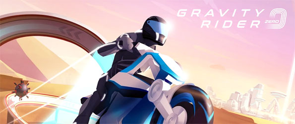Gravity Rider Zero - Ride across a variety of futuristic tracks in this phenomenal moto racing game that's unlike any other.