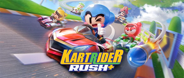 KartRider Rush+ - Play this epic racing game and travel at breakneck speeds as you attempt to outpace your opponents.