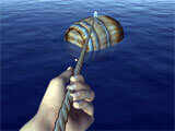 https://play.google.com/store/apps/details?id=com.mega_play_games.ocean.raft.shark.craft.survival_games.crafting.building.last_day.survive.fishing.hungry reeling in a barrel