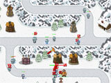 Legend of Towercraft snowy environment