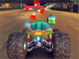 RACE: Rocket Arena Car Extreme launching rockets