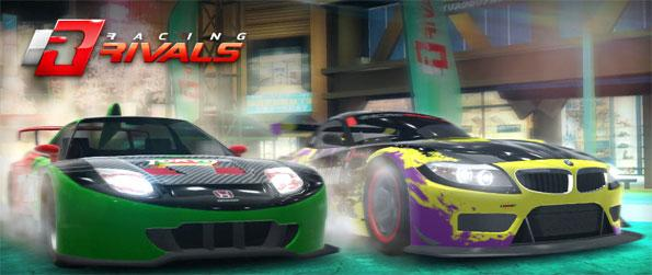 Racing Rivals - Race your friends in this high speed free Facebook game.