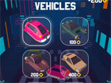 Vehicle selection in the game