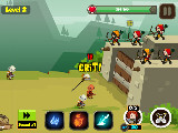 Defending your castle in Fortress Defense