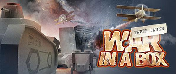 War in a Box: Paper Tanks - Get into the front lines of the battles as you desolate hordes of incoming paper tanks in this wonderful tower defense game by Big Fish Games.
