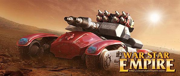 War Star Empire - Share weapons,resources, and tactics with other active online players in order to layout great skirmishes and planned attacks in this wonderful MMORTS game in facebook!
