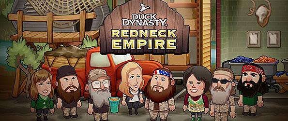 Duck Dynasty Redneck Empire - Take part in the unique and charming family of the Robertsons when joining them build their duck-hunting empire.
