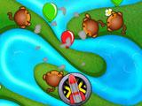 Setting up Rockets at Bloon TD Battle