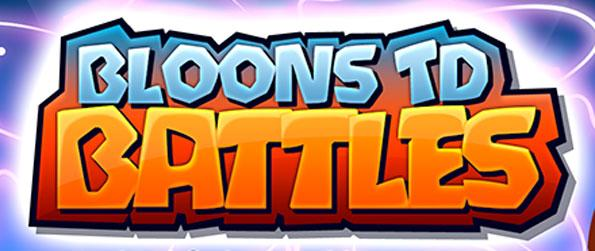 Bloons TD Battles  - Set up your defenses to pop all the balloons while you battle your friends and enemies all over the world in this exciting tower defense, Bloons TD Battles!