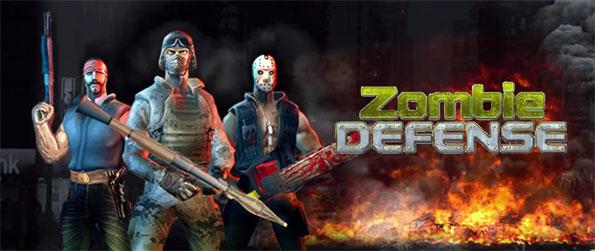 """Zombie Defense - Take on hordes of brain-hungry zombies in this one-of-a-kind """"tower"""" defense game, Zombie Defense!"""