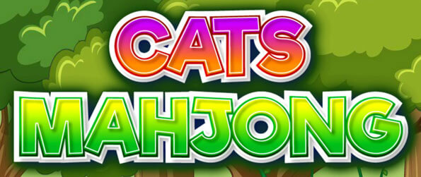 Cats Mahjong - Have fun connecting cute cartoon cats in this connect-2 game!