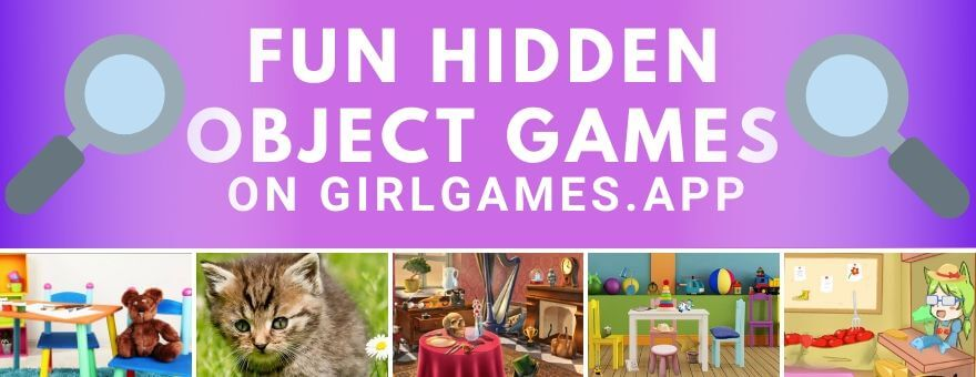 Fun Hidden Object Games on GirlGames.App!  large