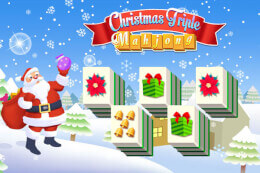 Christmas Triple Mahjong thumb