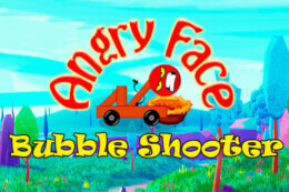 Angry Face Bubble Shooter thumb
