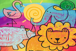 Little Animals Coloring thumb