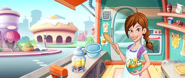 Kitchen Scramble - Serve customers and make them happy as you play this free Facebook Game.