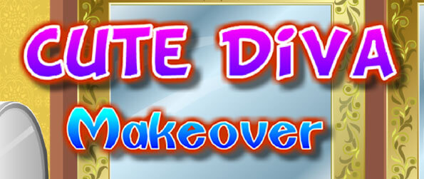 Cute Diva Makeover - Help the little diva complete her makeover!