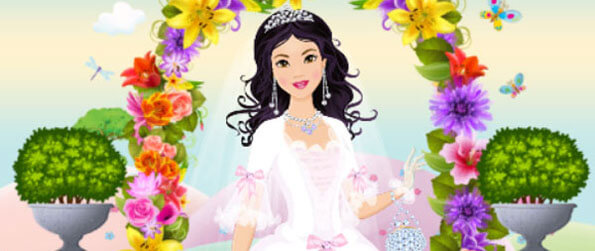 My Perfect Bride Wedding Dress-Up - Help these 4 brides dress up for their big day in My Perfect Bride Wedding Dress-Up!