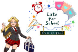 Late for School Dress-Up Game thumb