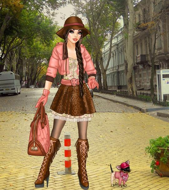 Casual Fashion in Lady Popular