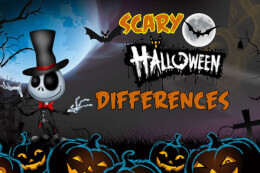 Scary Halloween Differences thumb