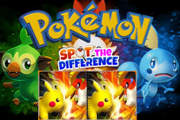 Pokemon Spot the Difference thumb