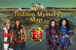 Descendants: Hidden Mystery Map thumb