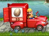 Crop Busters Red Van level