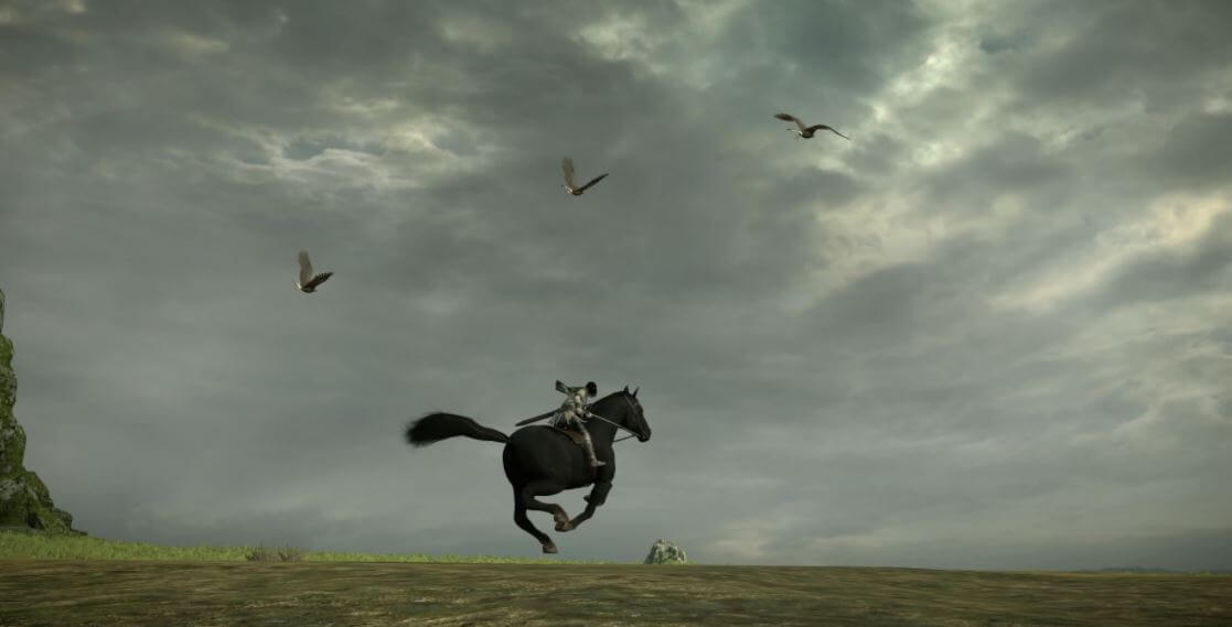 Riding Agro in Shadow of the Colossus