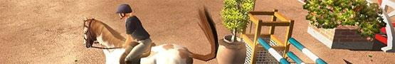 Horse Games Online - Eventing In Horse Games