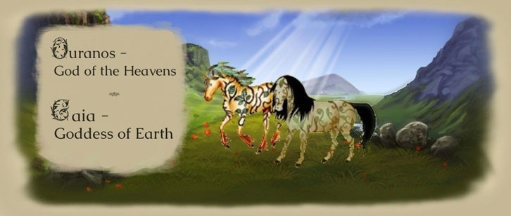 Howrse: The Mother and Father of All Foundation Horses, Gaia and Ouranos