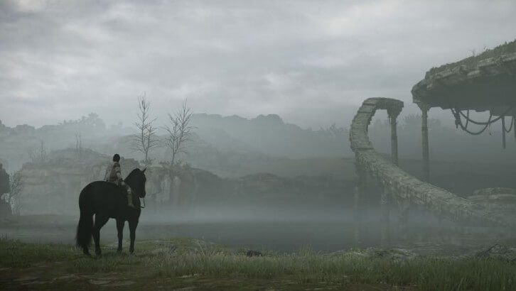 Agro and Wander in Shadow of the Colossus