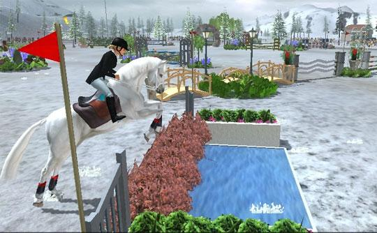 Amazing Water Jump in Riding Club Championships