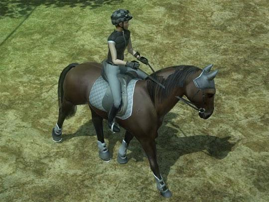 Ready to Race in Ride: Equestrian Simulation