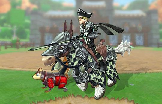Tournament Horse in Wizard 101